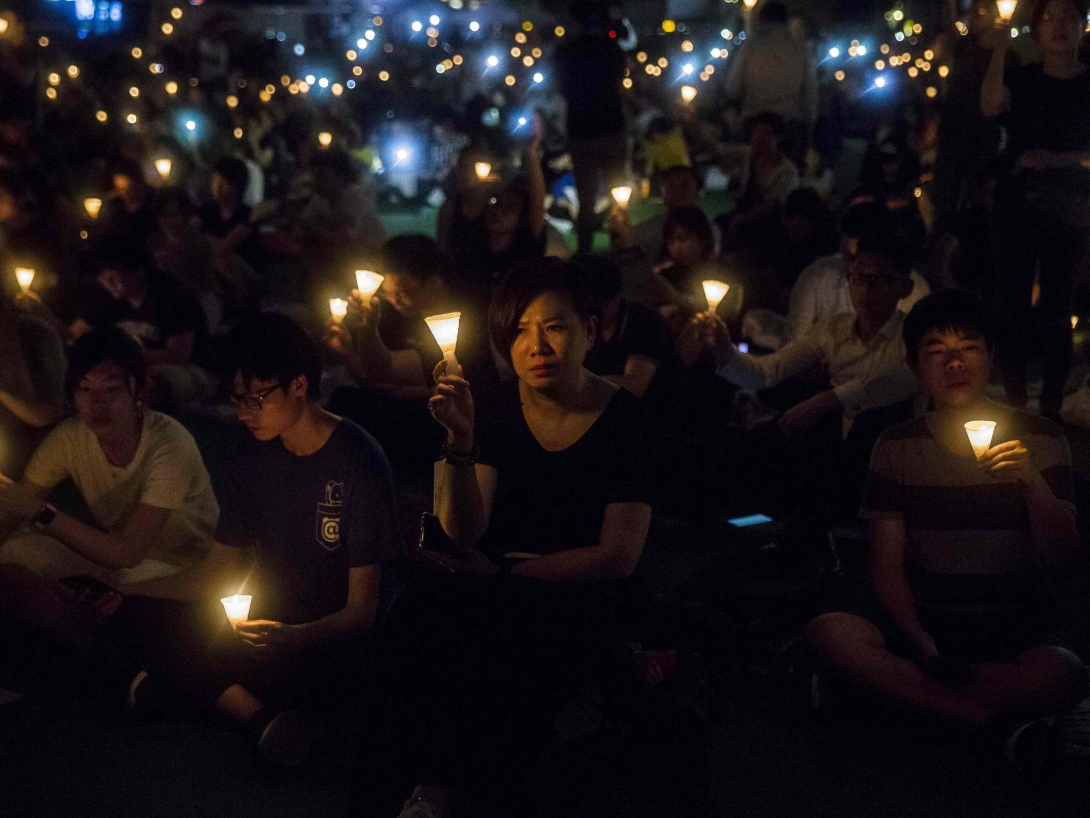 Hong Kong's annual Tiananmen Square vigil banned for first time amid growing concern over China's influence over territory