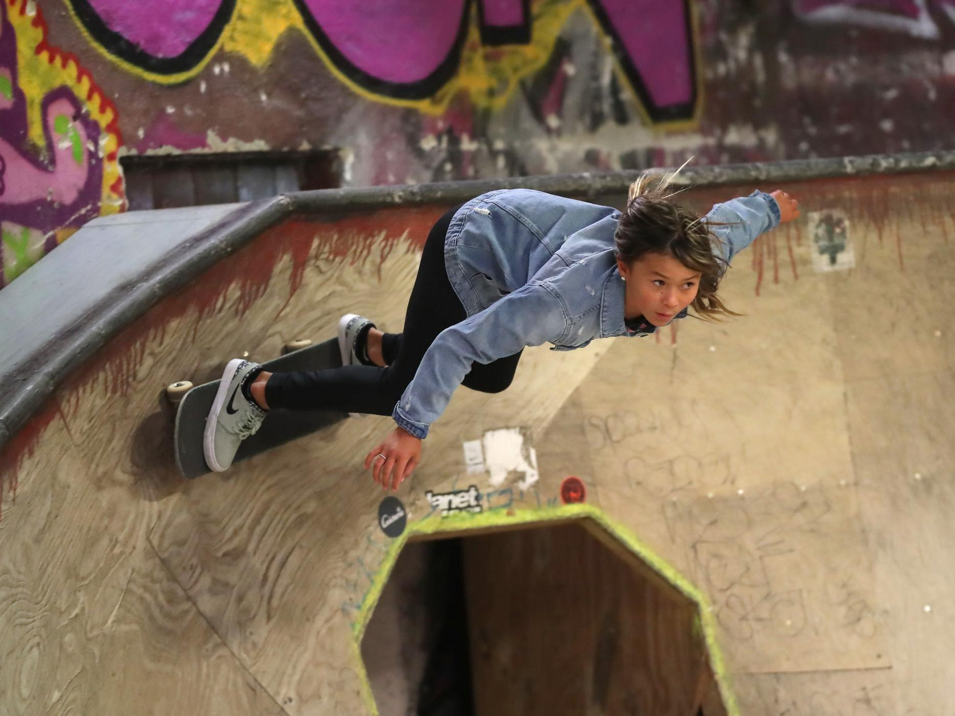 Sky Brown: 11-year-old skateboarder 'lucky to be alive' after fracturing skull in fall thumbnail
