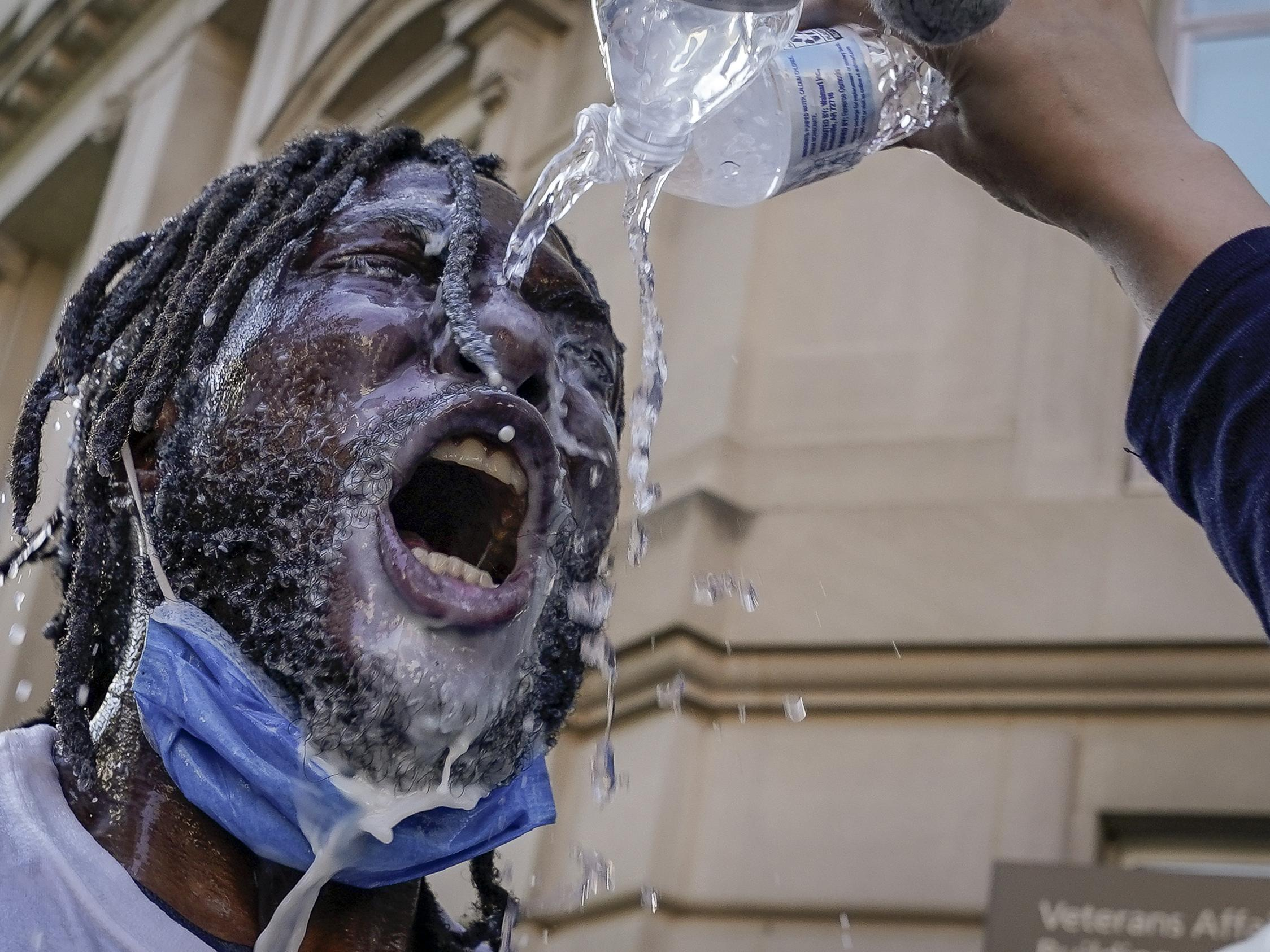 George Floyd: Pepper spray sales soar on Amazon amid protests