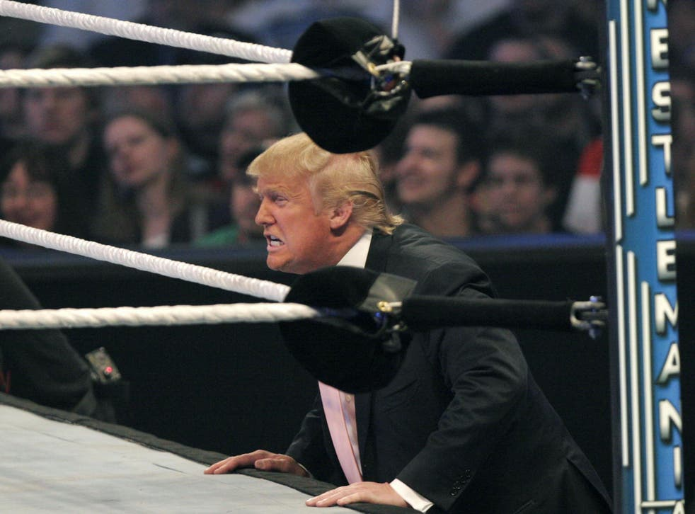 Donald Trump appeared at WWE WrestleMania 23 in 2007