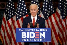 Biden hits out at Trump over threat to crush protests