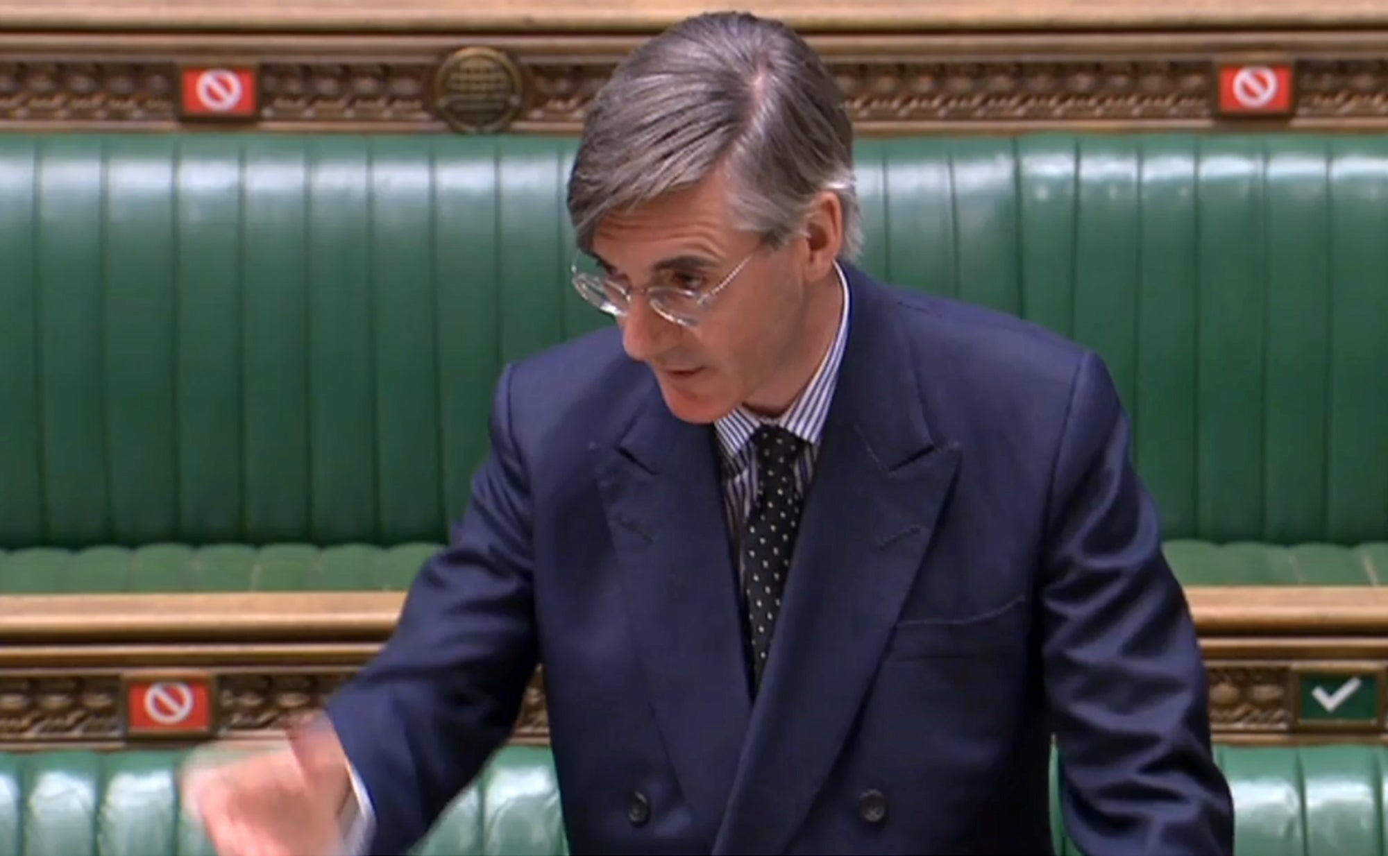 'Democracy for the elite': Rees-Mogg faces backlash for attempt to end virtual voting MPs