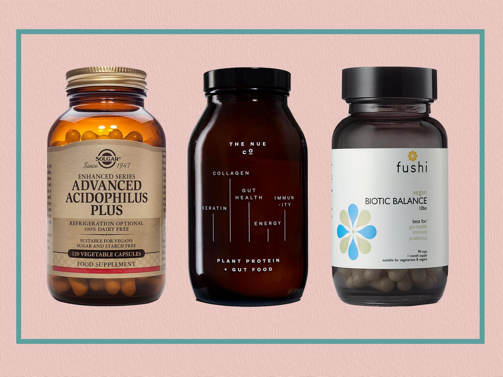 Best prebiotic and probiotic supplements to help improve gut health