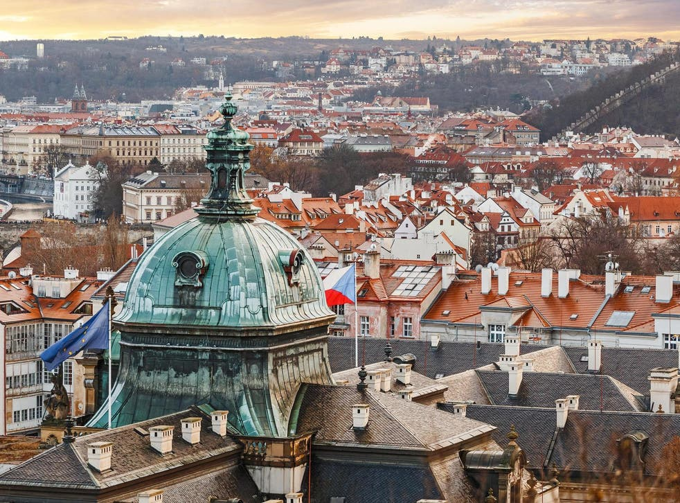 Last call: British travellers in Prague are making plans to leave