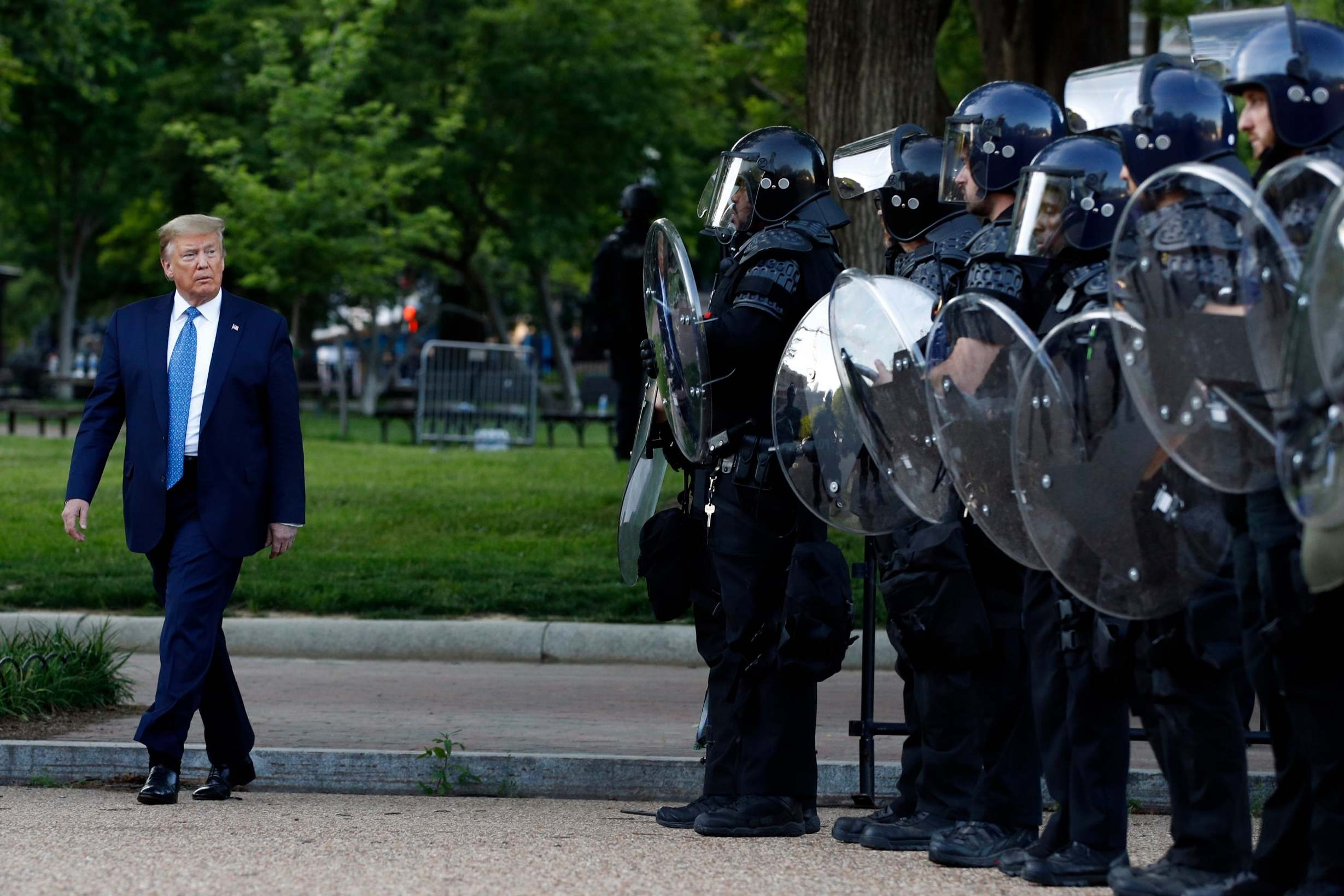 Trump's Secret Service director called to brief Congress about violent dispersal of peaceful protesters near White House