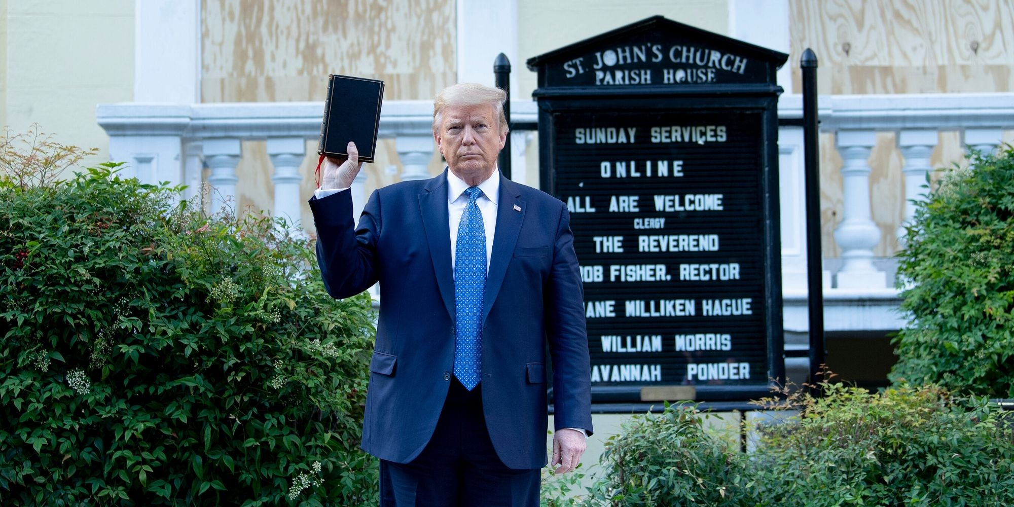 'Here in New York, we read the Bible': Cuomo condemns Trump for his church photo op