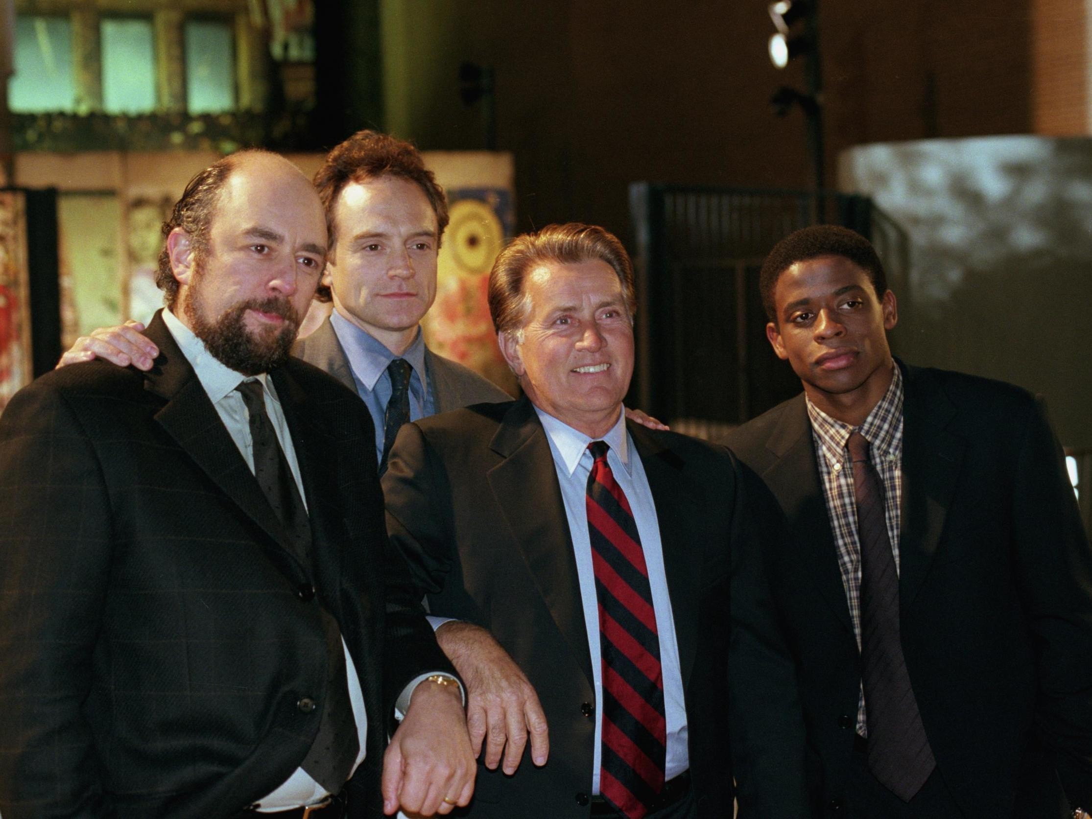 The West Wing star says reunion 'coming soon'