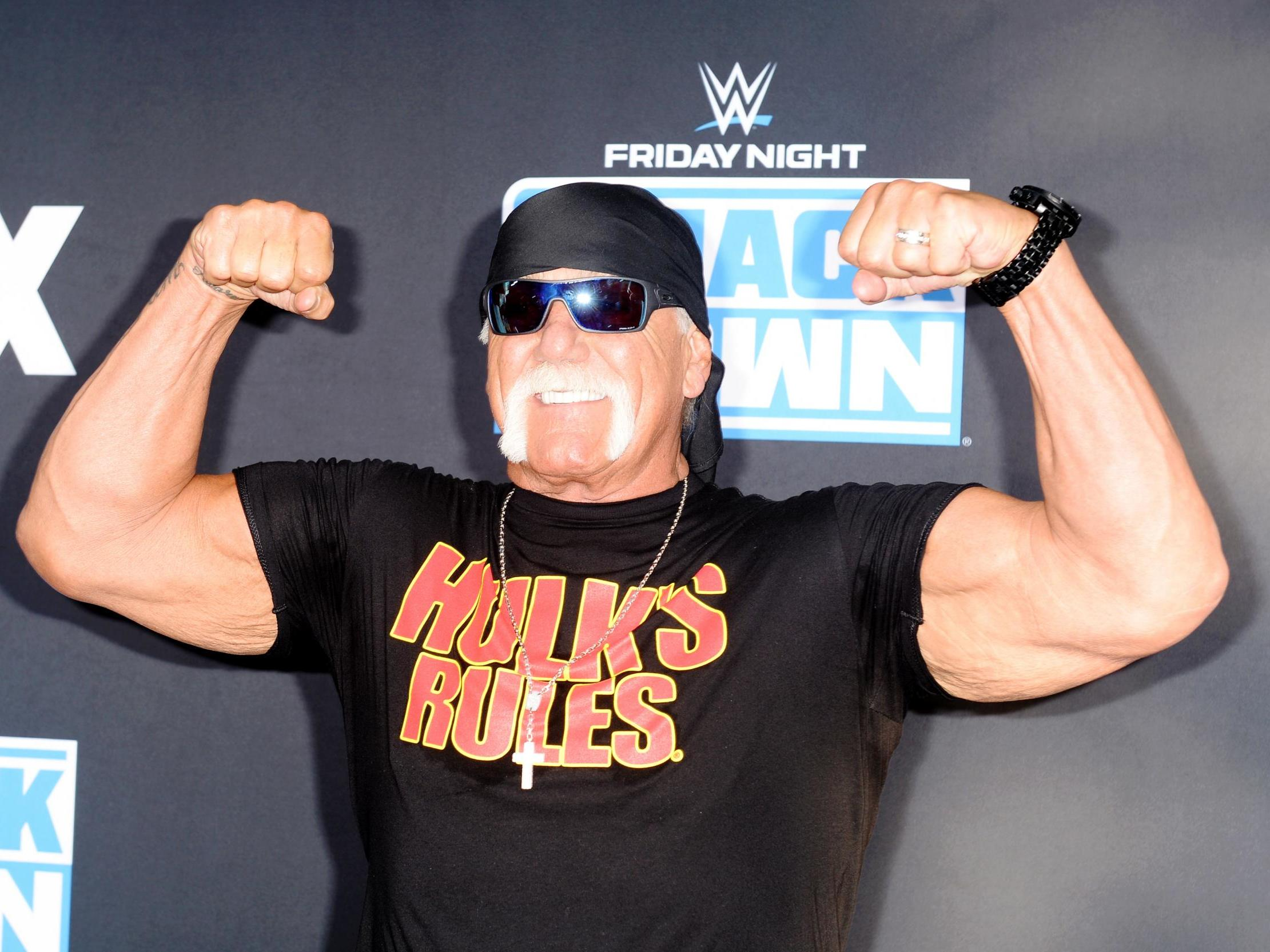Hulk Hogan and ex-wife banned from wrestling events over 'afro Americans' tweet