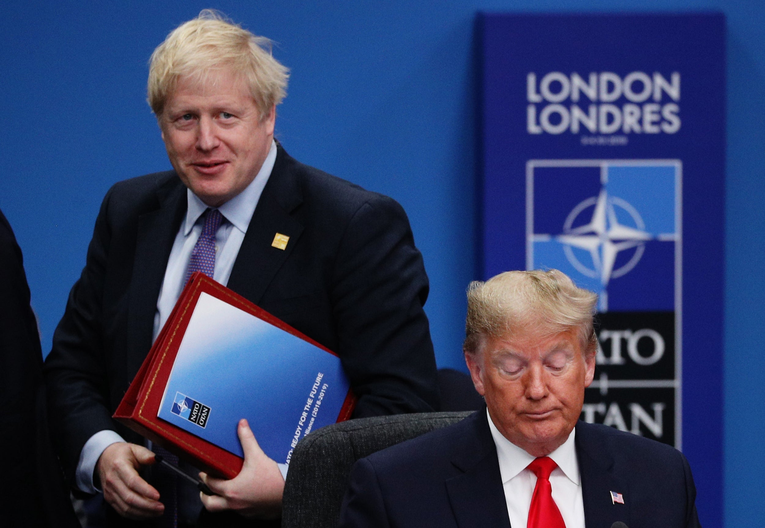 Boris Johnson urged to end 'silence' and condemn Trump's response to George Floyd protests