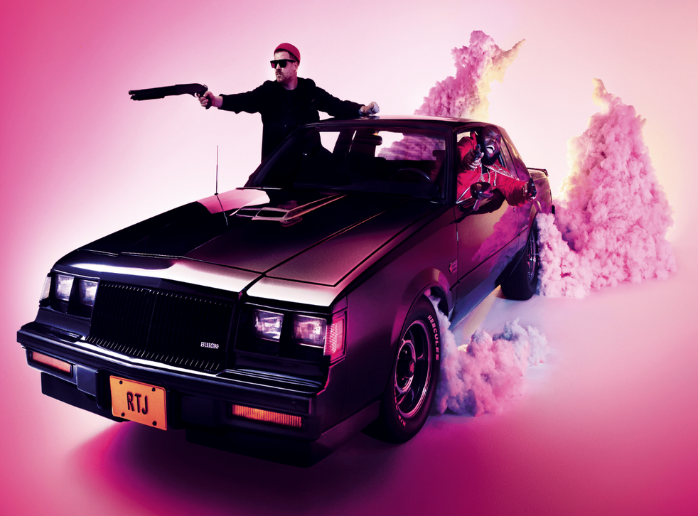 El-P and Killer Mike / Artwork by Timothy Saccenti