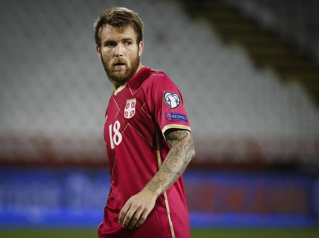 The Serbia international recently moved to LA Galaxy