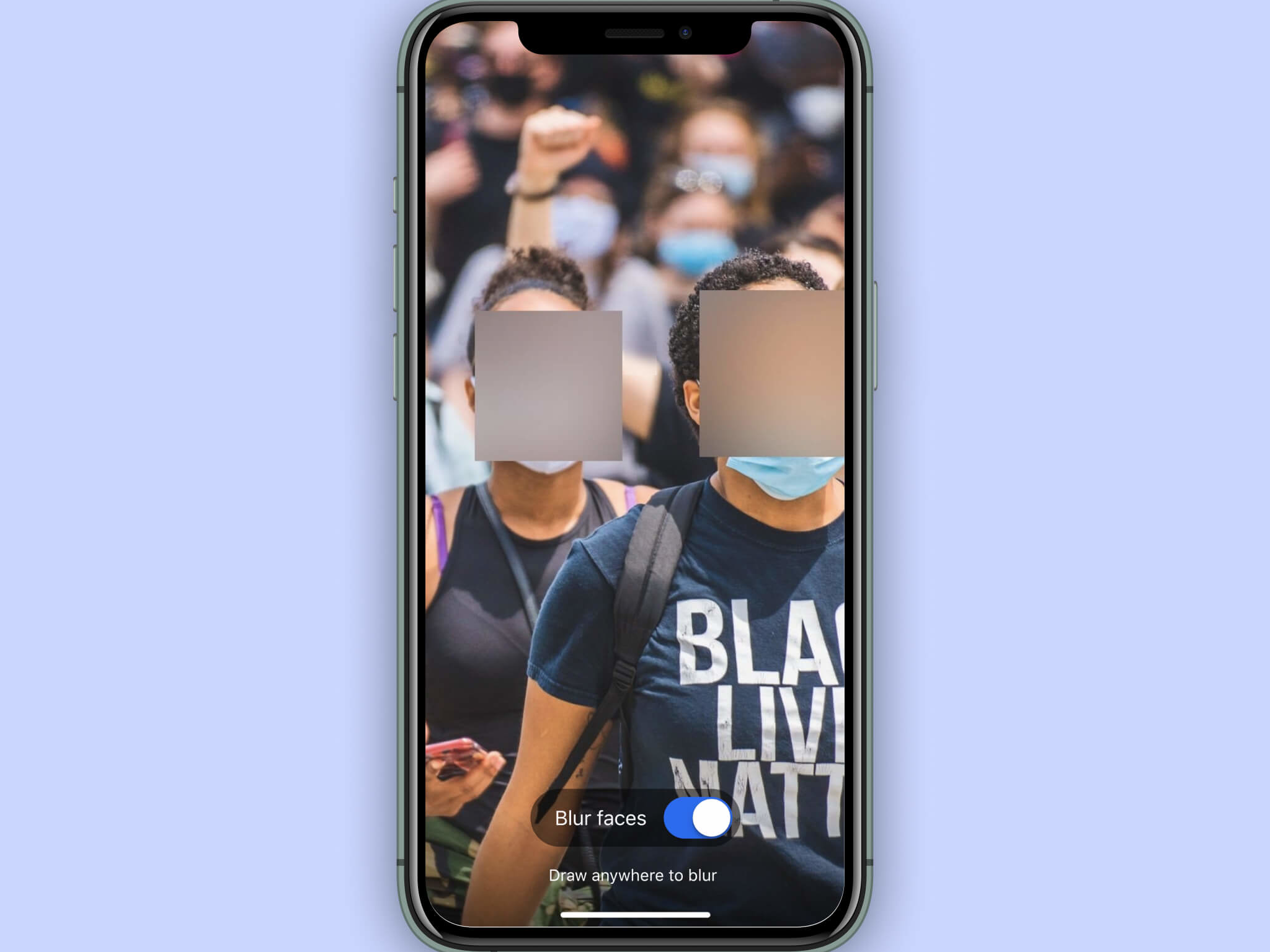 Signal app to introduce automatic face blurring in photos as US protests continue
