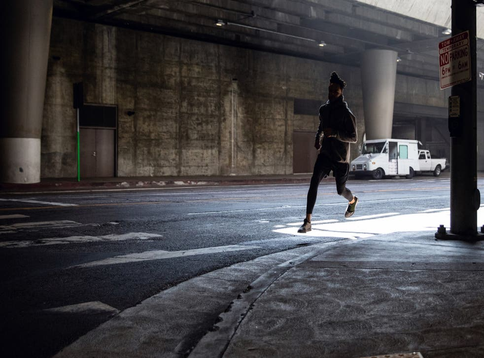 'I have never jogged without the spectre of race,' says Kurt Streeter