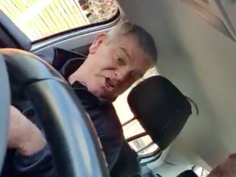 'We'll blow you out the f****** water': Police appeal for information after racist taxi passenger video goes viral