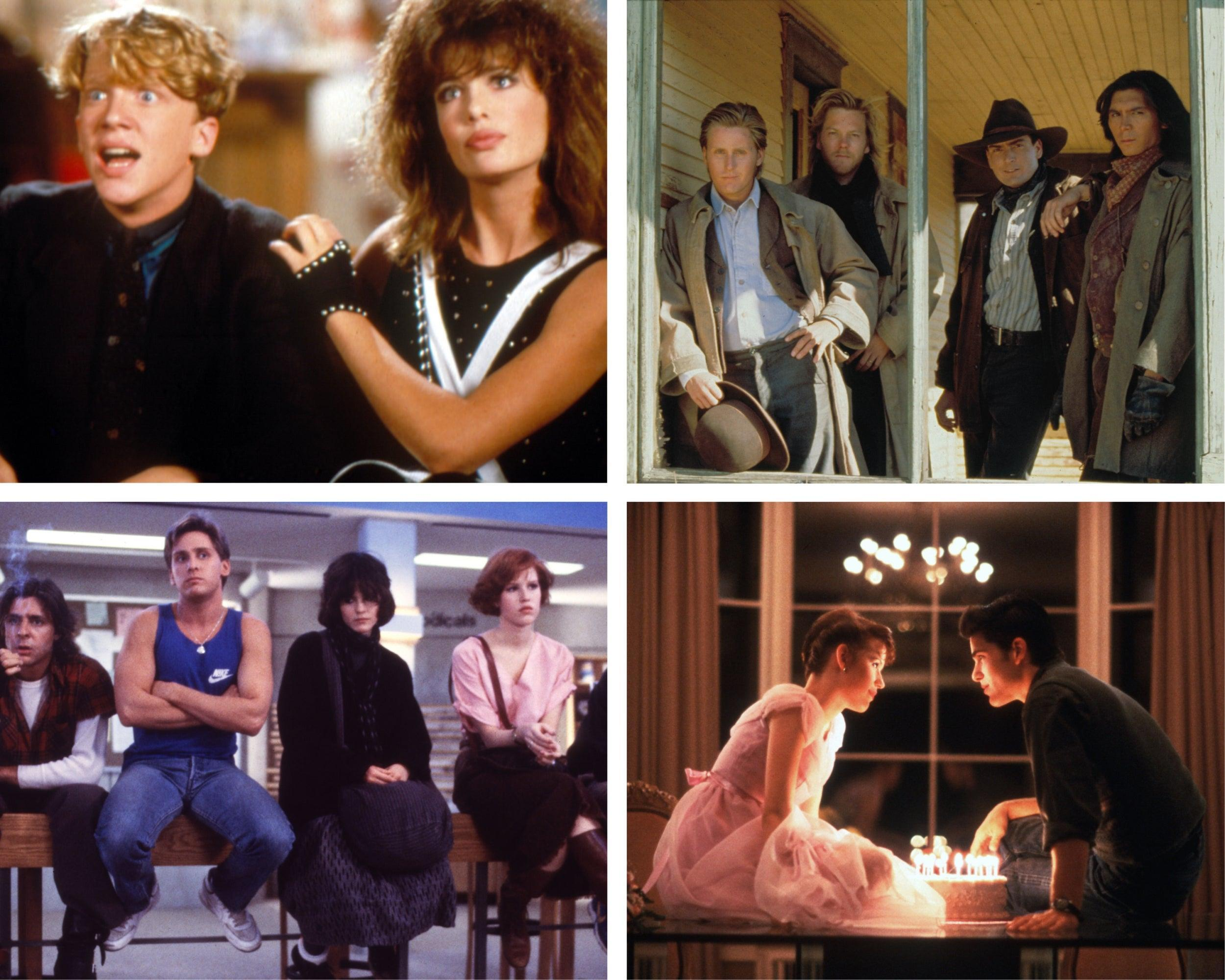 The 10 greatest Brat Pack films, from The Breakfast Club to Sixteen Candles