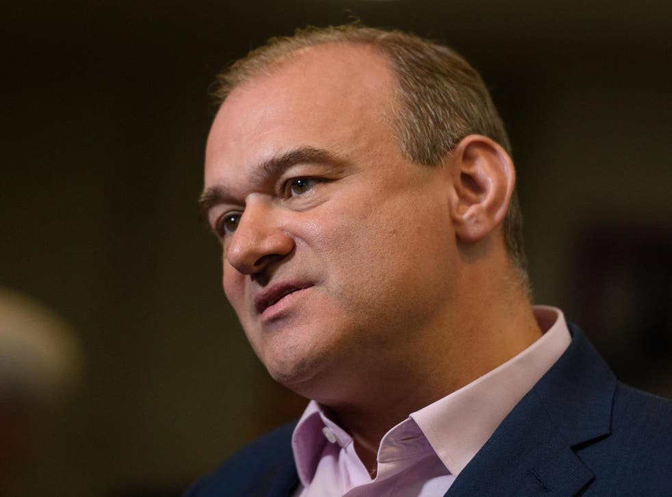 Ed Davey is the favourite to win the Lib Dem leadership