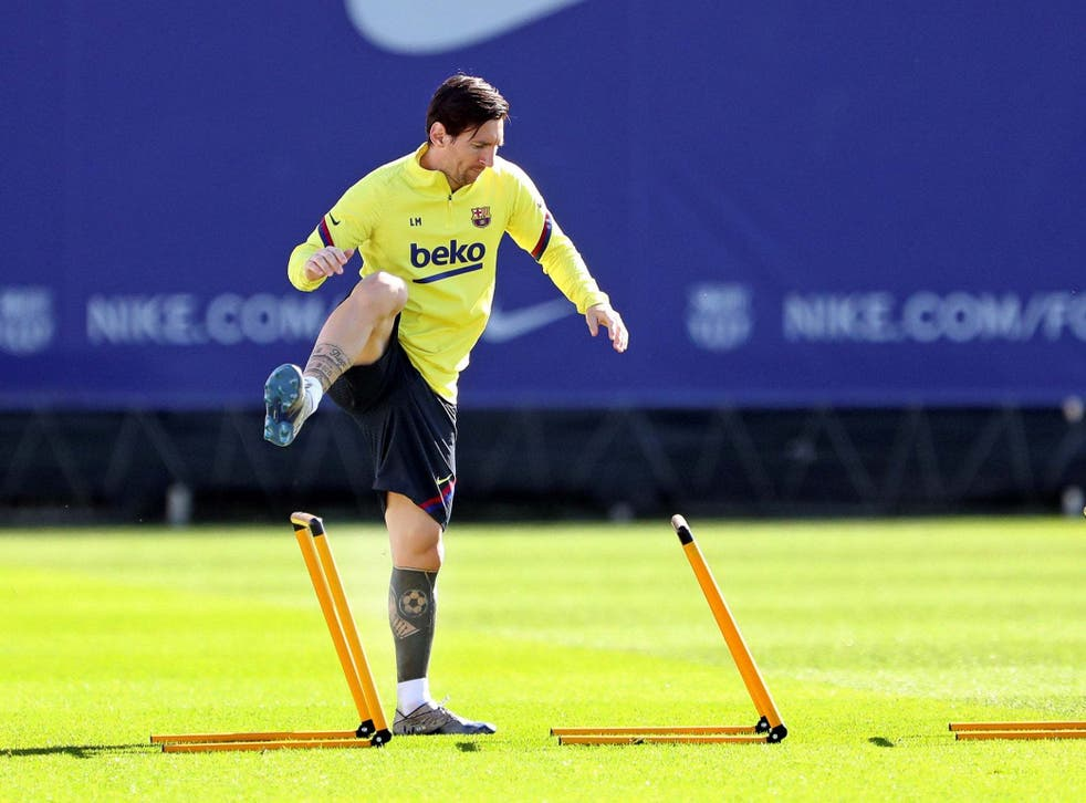 Lionel Messi is expected to return to full training in several days