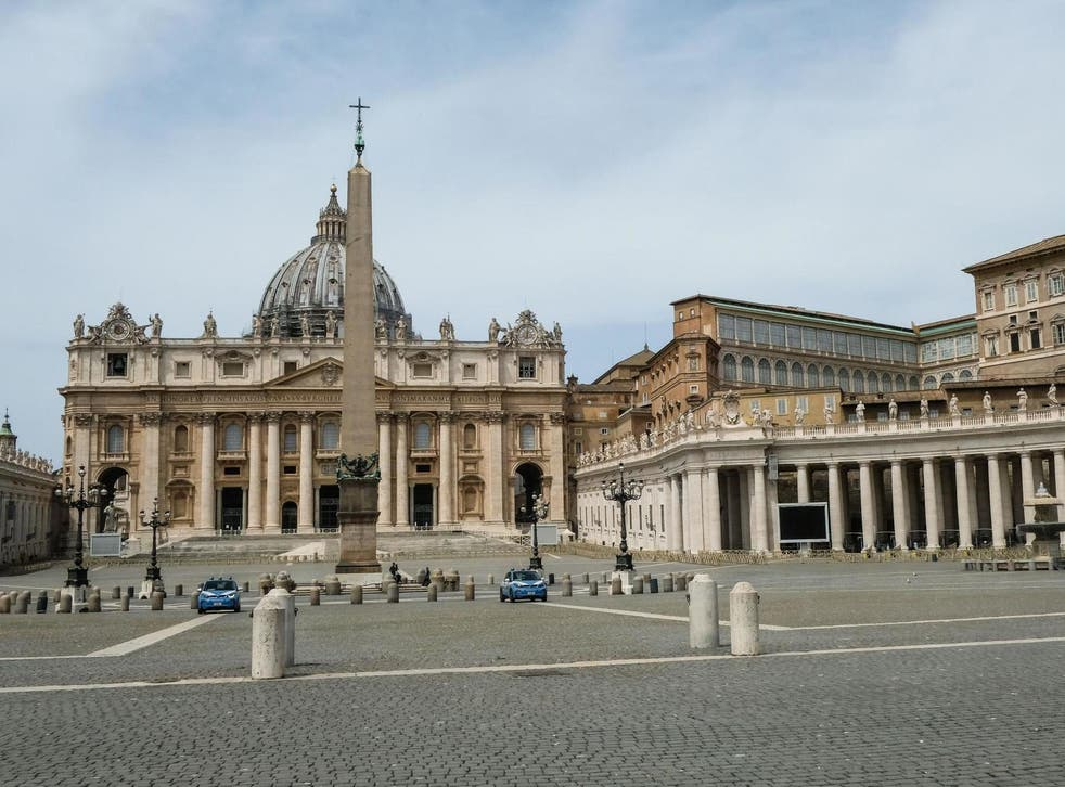 Vatican police have arrested a man in relation with a property deal in London's Chelsea district