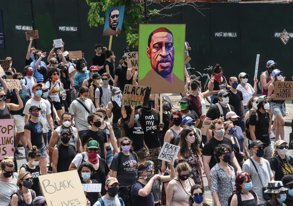 Hundreds of thousands of protestors take to America's streets to ...