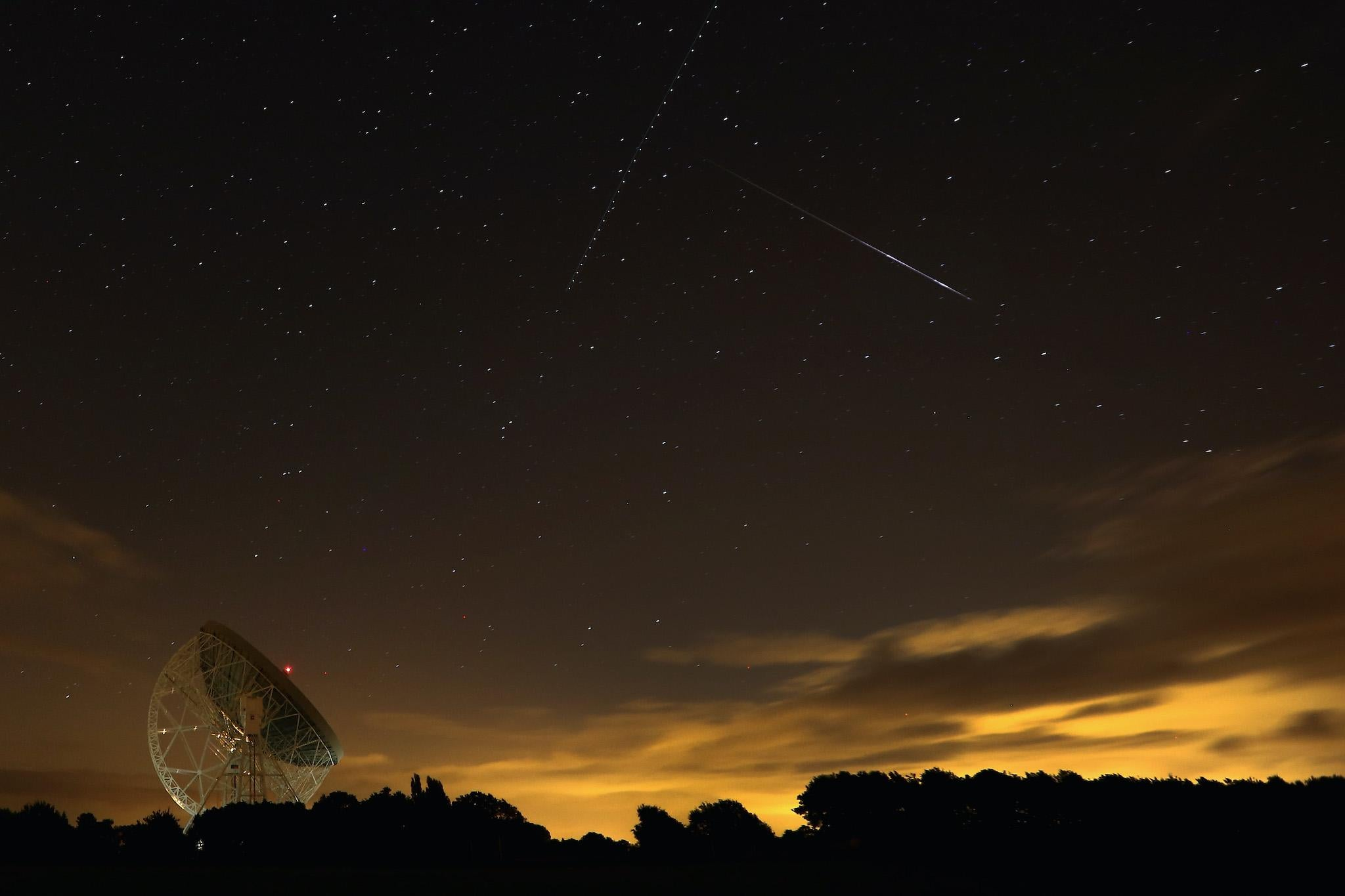How to watch the stunning meteor shower lighting up the night sky this evening