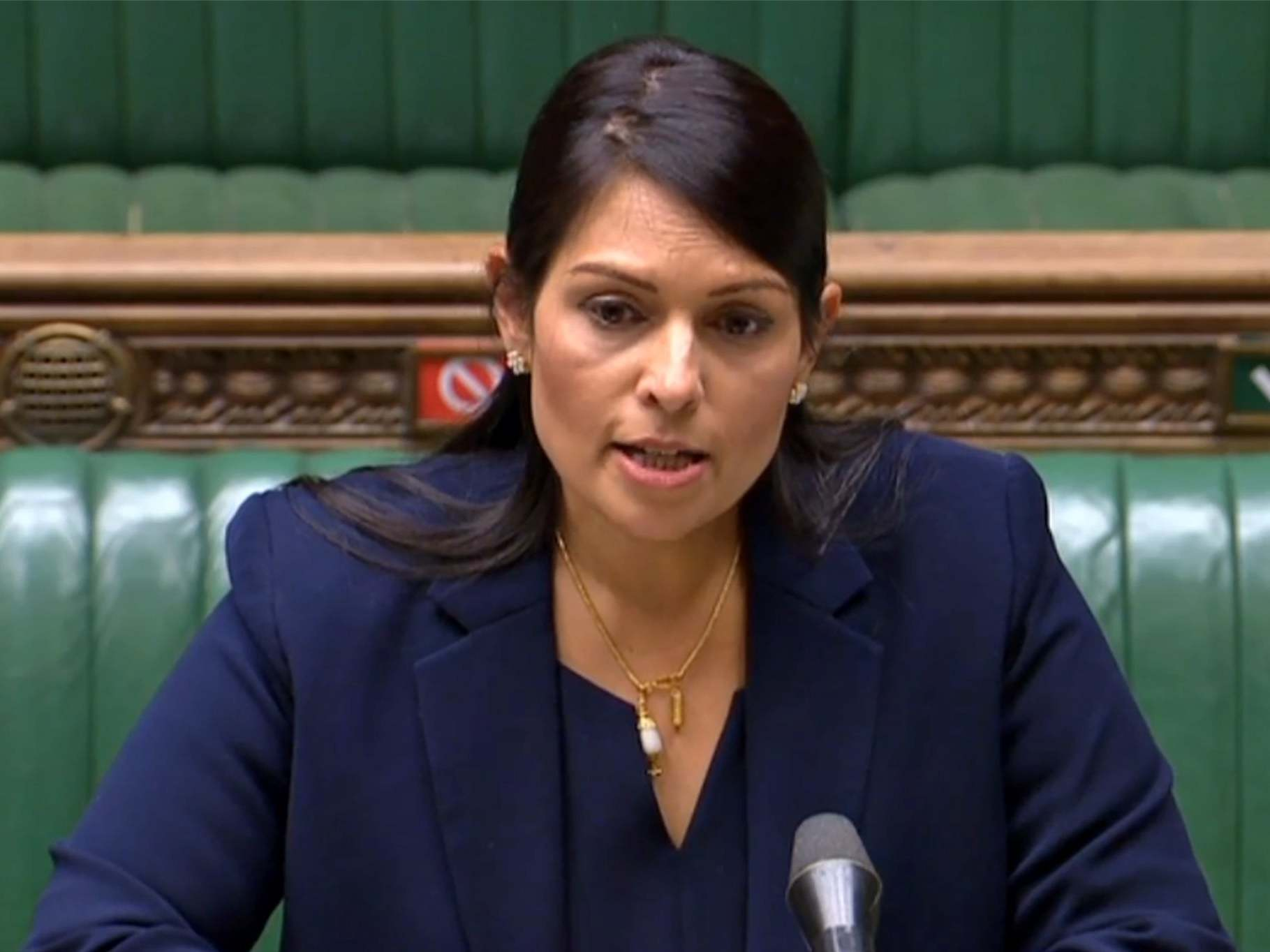 Was this Priti Patel's finest hour? | The Independent