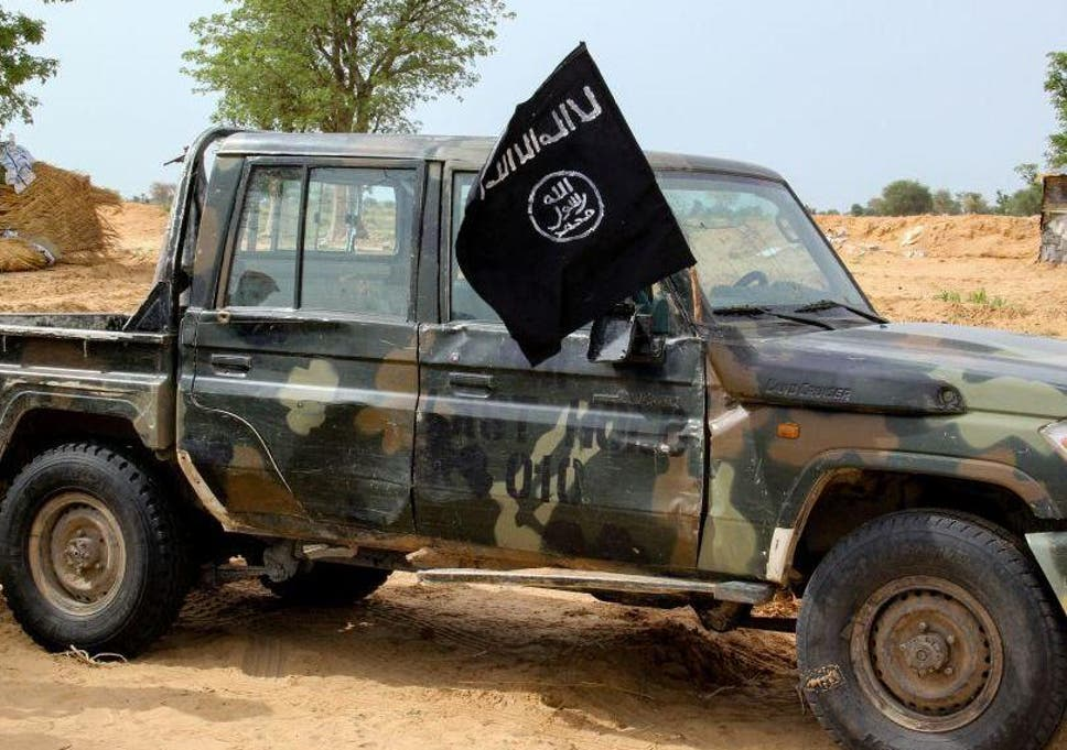 Boko Haram militants have killed thousands in Nigeria (Pictured: Vehicle allegedly belonging to Boko Haram near the town of Baga)