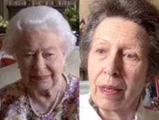 Princess Anne teaches the Queen how to video call in new clip