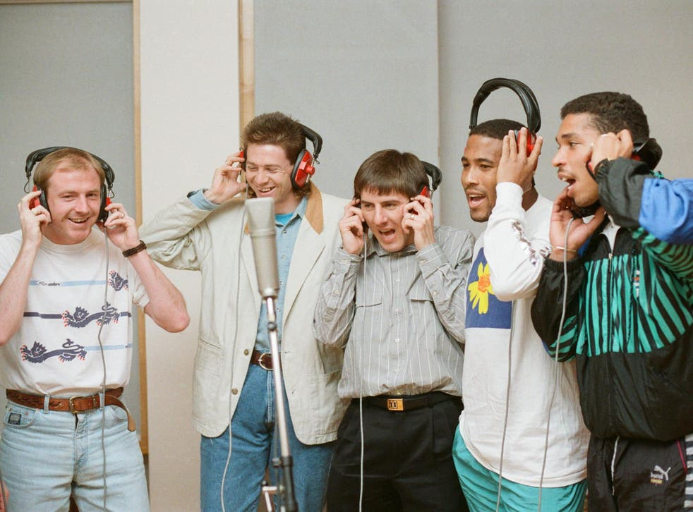 England players record 'World in Motion' with New Order