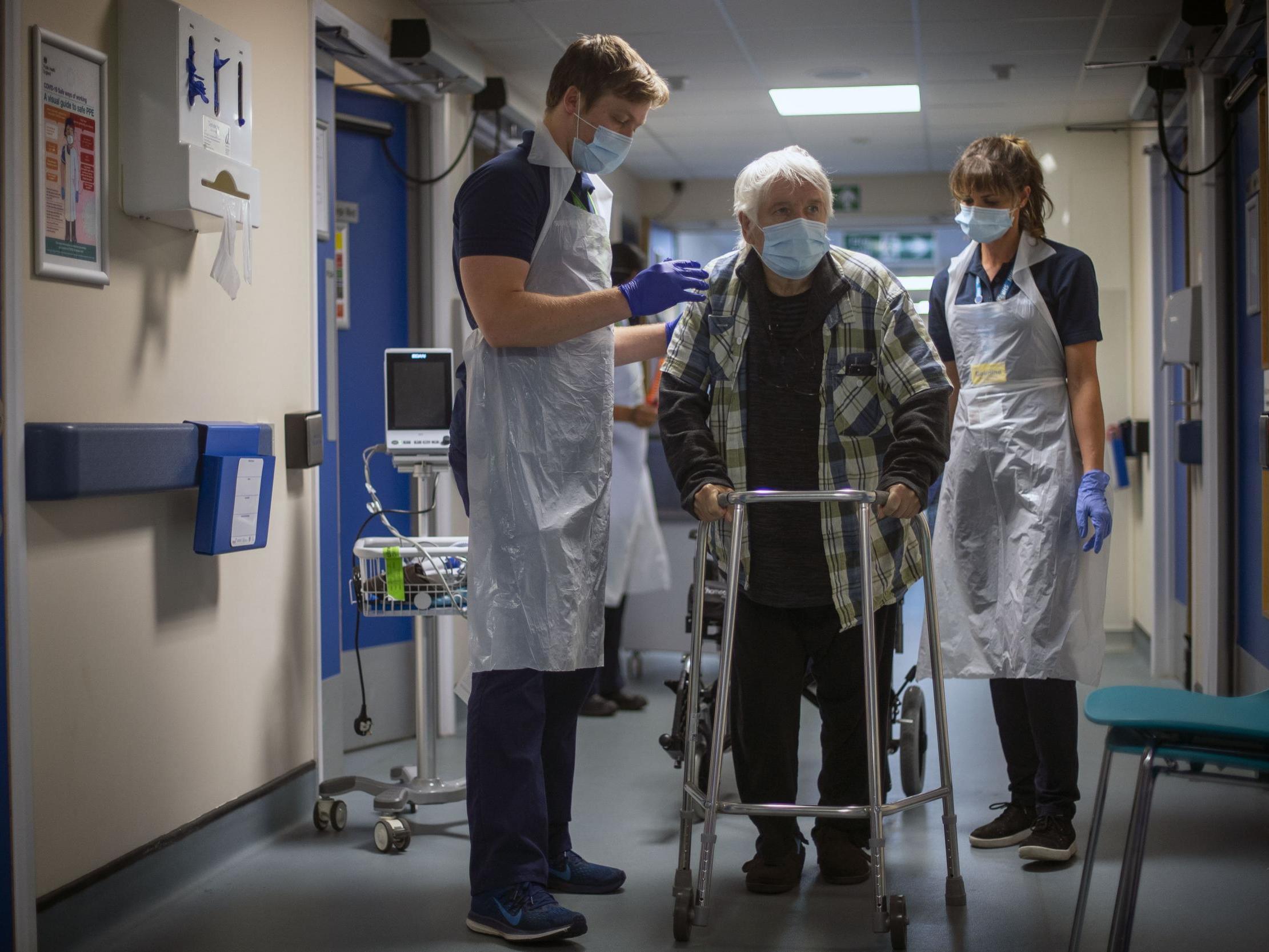 Coronavirus; Hospitals face 'hard choices' as routine NHS services restart, expert says thumbnail