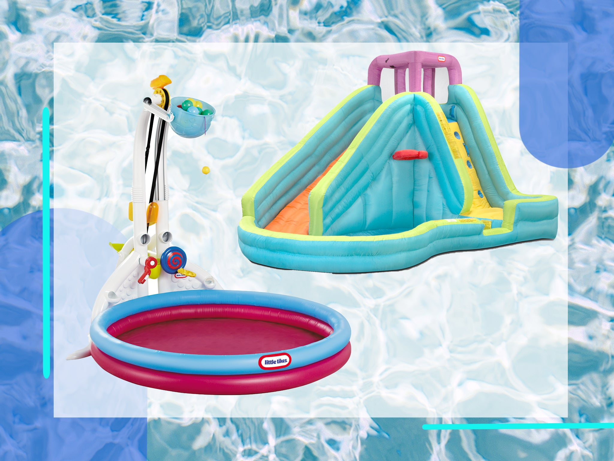 Bestway Fun Play Paddling Pool Inflatable Kids Family summer garden activity