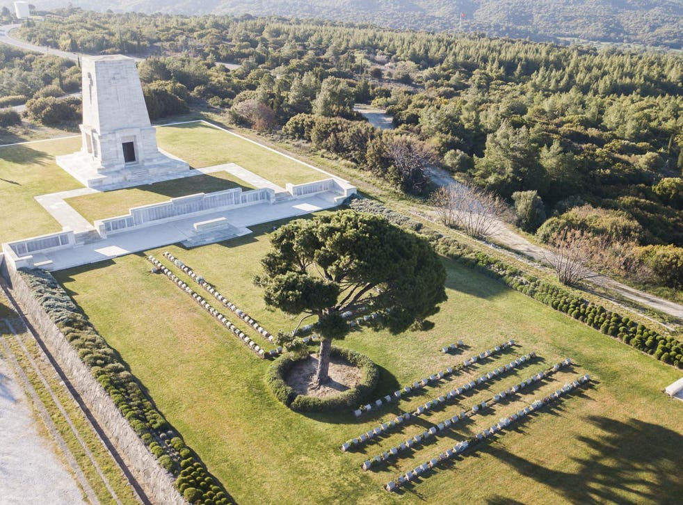 Anzac Day services were cancelled this year at the Australian cemetery on the Gallipoli Peninsula