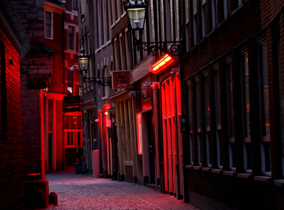 Light district in red 10 of