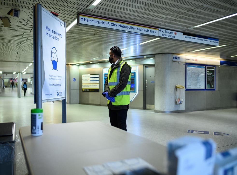 Bame workers are thought to be less likely to ask for PPE because of historical discrimination