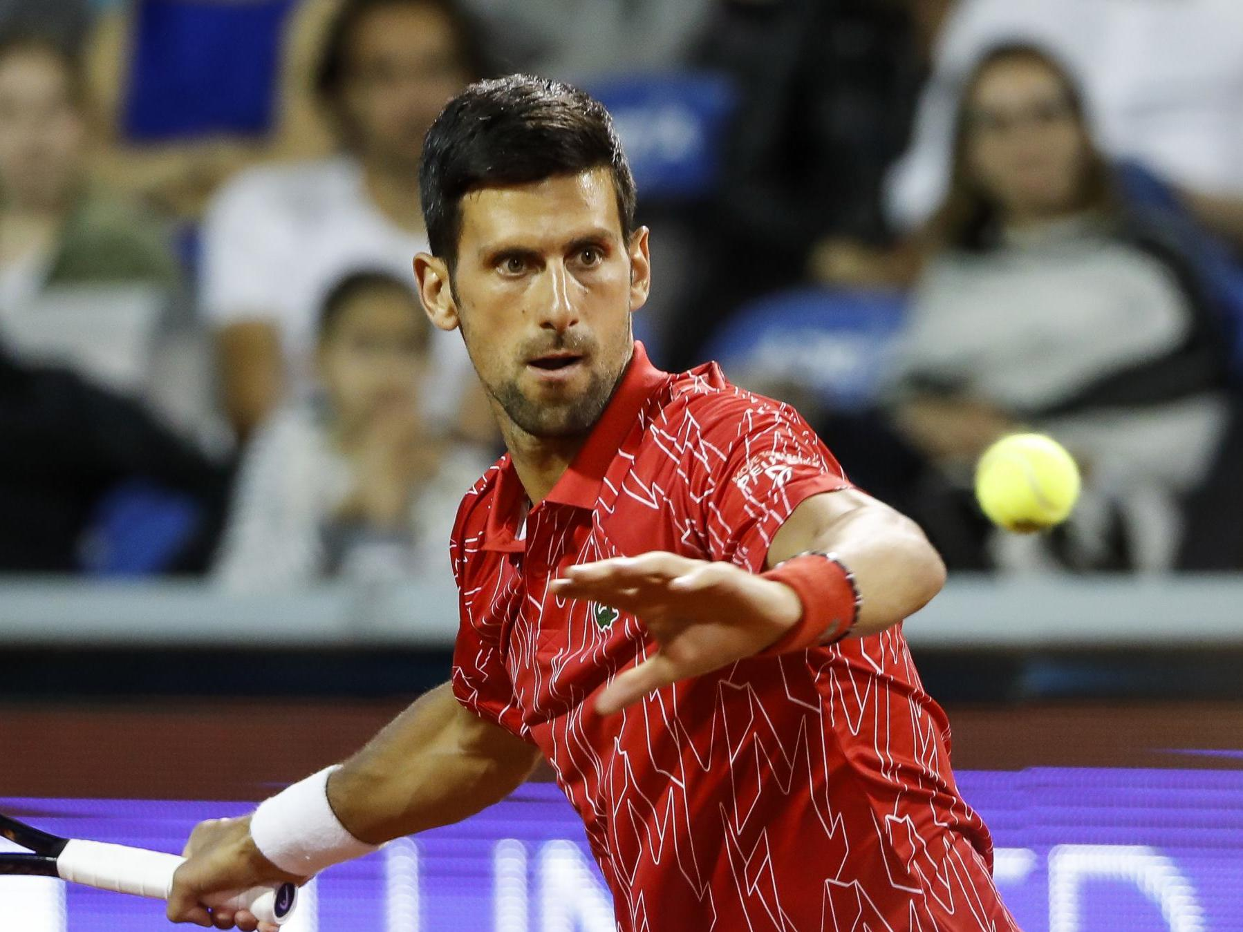 Novak Djokovic Upstaged By Ball Boy On Way To Winning Return At His Own Adria Tour The Independent The Independent