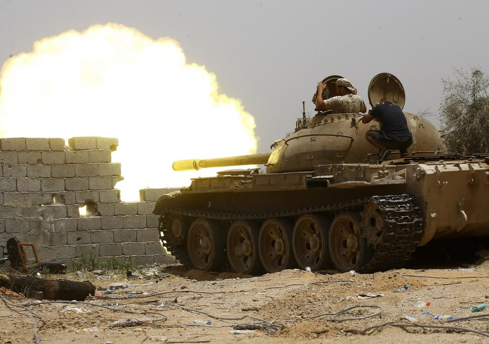 Many parts of Libya, including Tripoli, have become a battleground