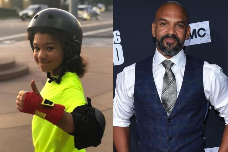 Walking Dead actor Khary Payton shares post about 11-year-old transgender son