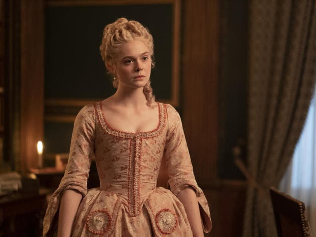 Catherine (Elle Fanning) discovers that marrying into Russian royalty isn't all it's cracked up to be
