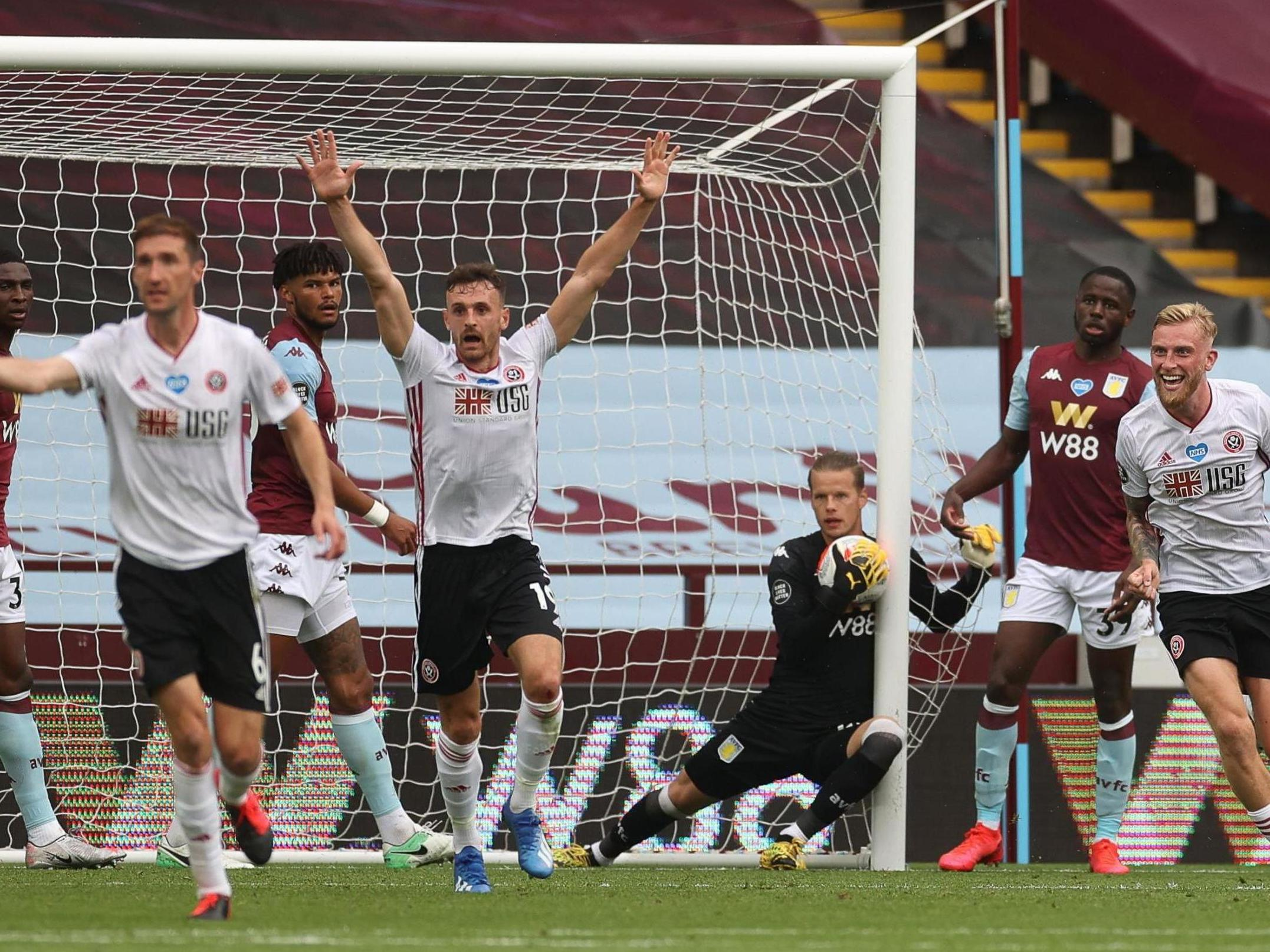 sheffield united vs aston villa - photo #19