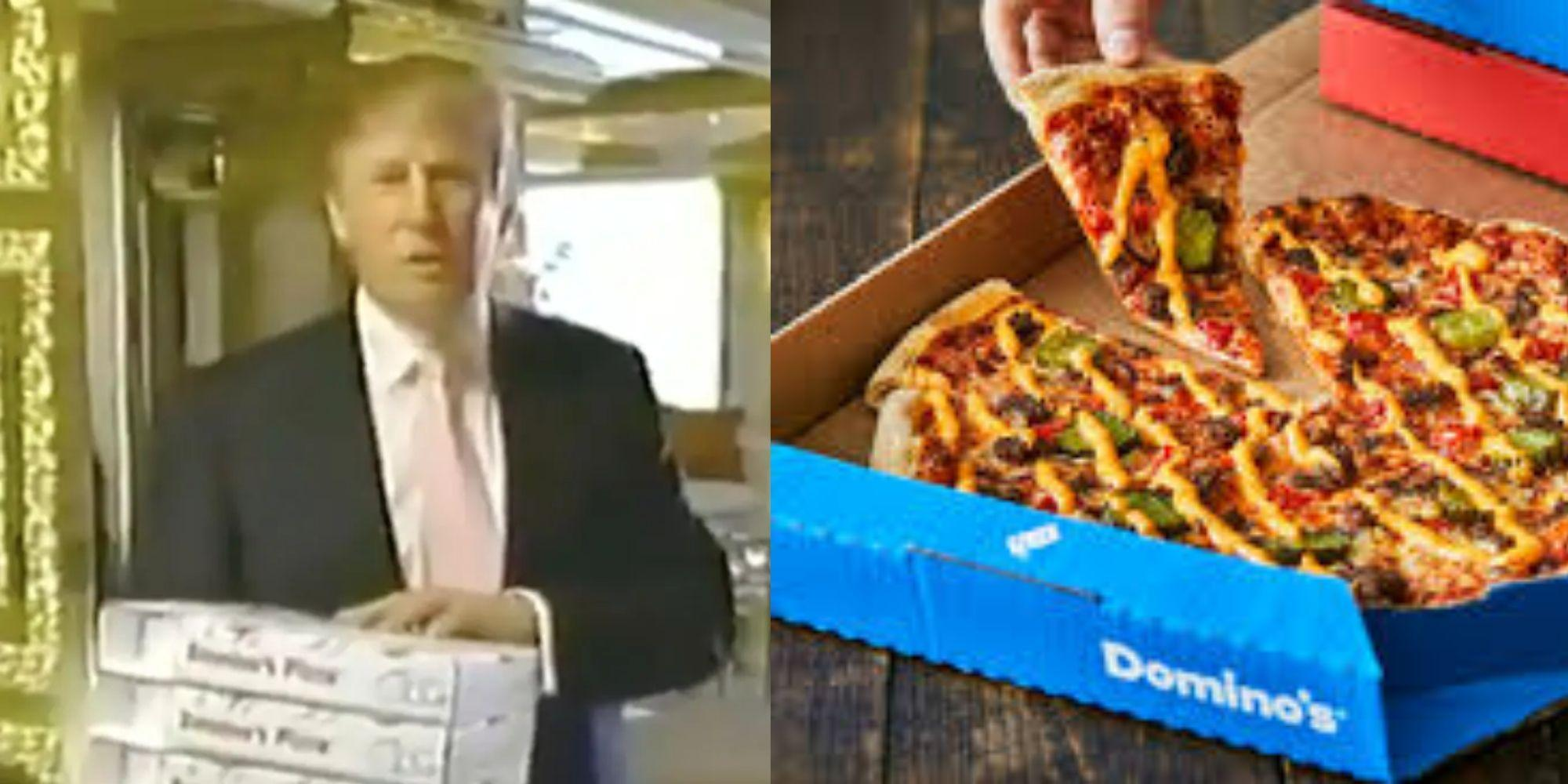 Trump News President S 2005 Domino S Pizza Advert Resurfaces Online Indy100