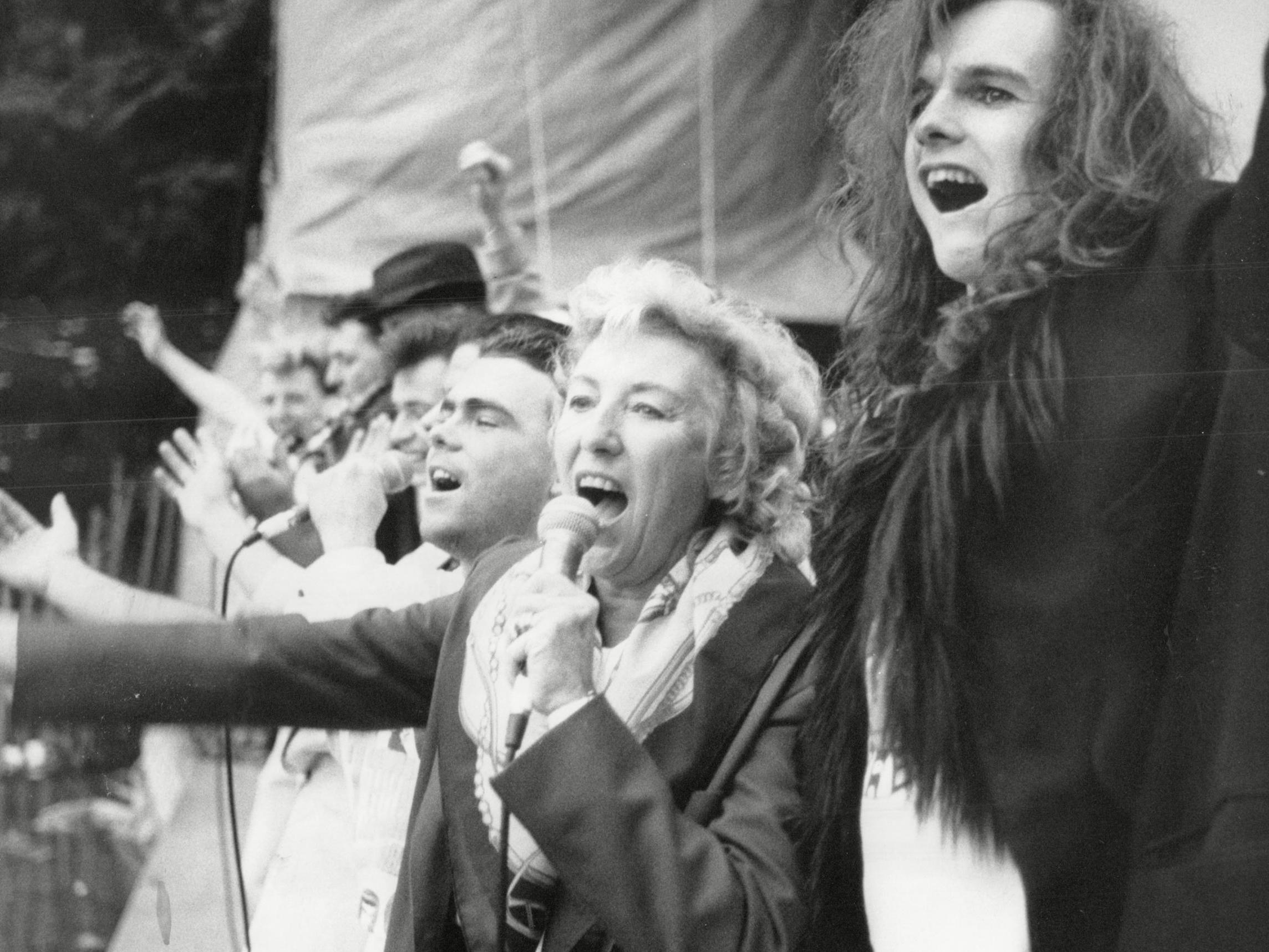 Dame Vera Lynn once performed with Hawkwind, Lemmy and topless dancers at anti-heroin concert thumbnail