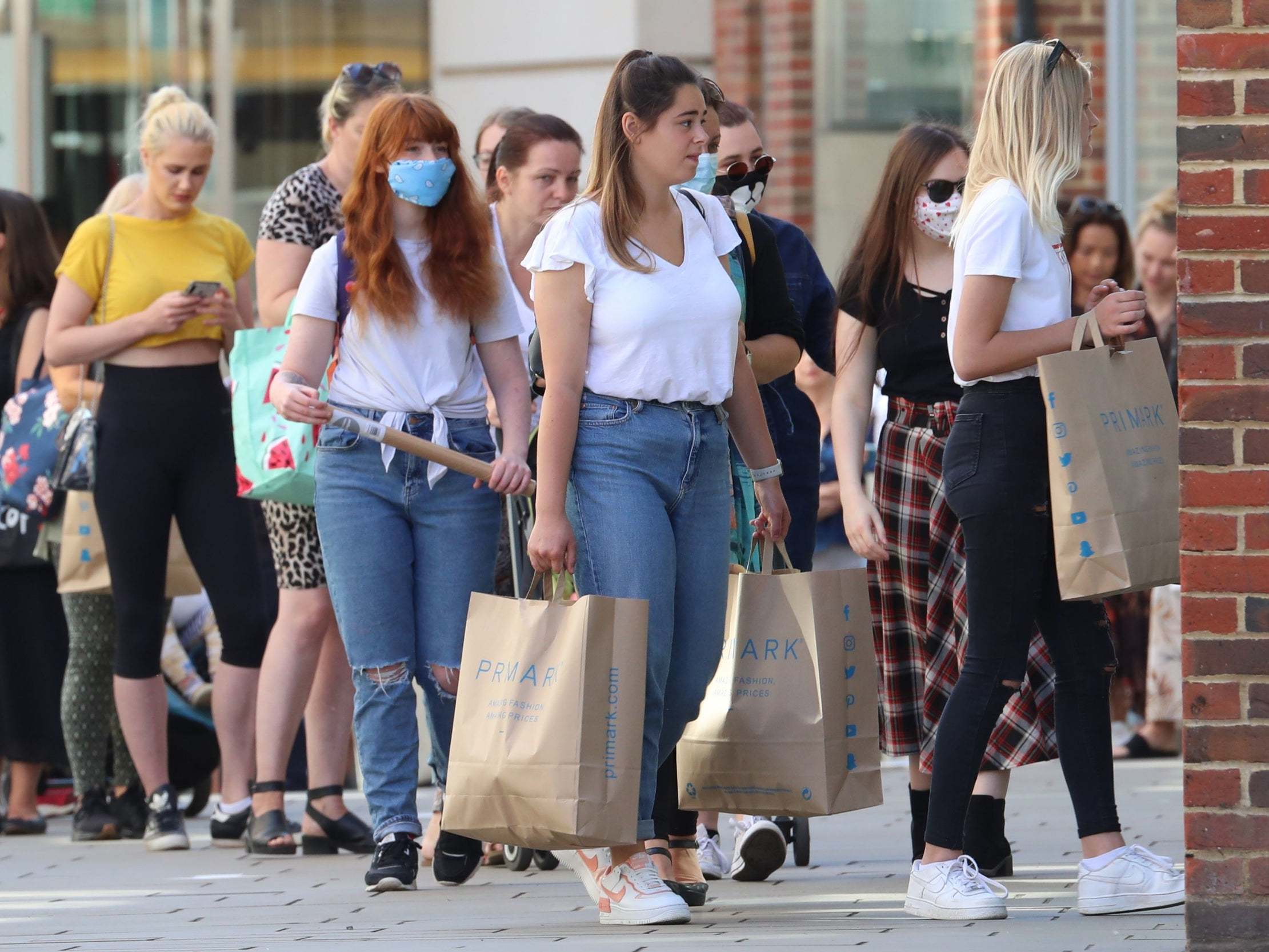 Retail sales jump 12 per cent as lockdown eases and shops begin to reopen