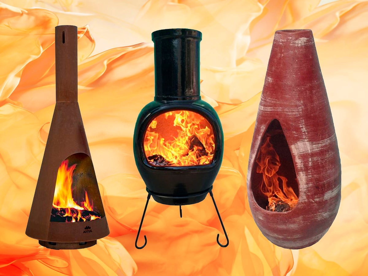 Best chiminea 9: Cast iron, clay and metal burners  The