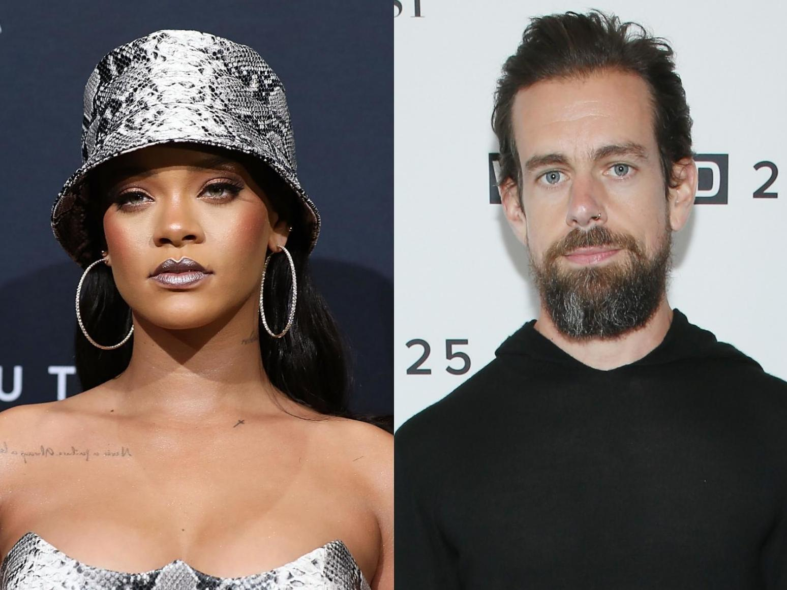 Rihanna And Twitter Ceo Jack Dorsey Donate 15m To Mental Health Services The Independent The Independent