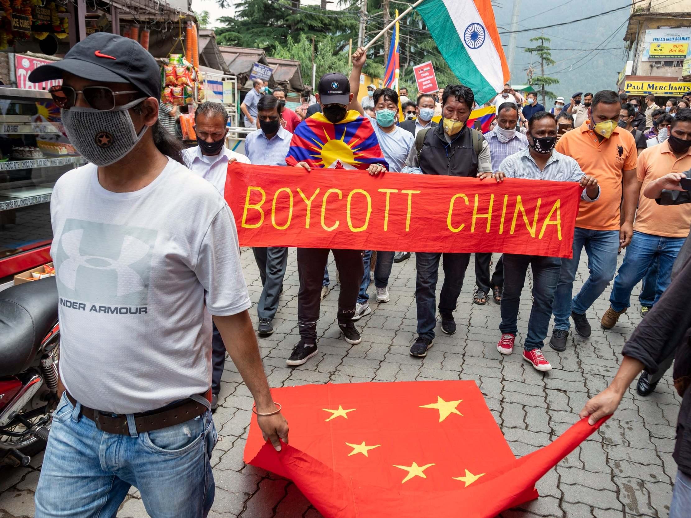 Konflik China-India. Foto: The Independent