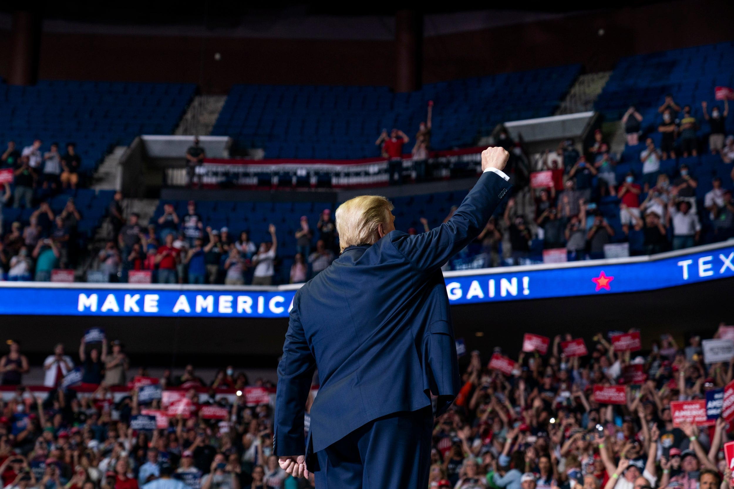 Trump campaign insists it wasn't fooled by TikTok teens and K-pop fans over low Tulsa rally turnout