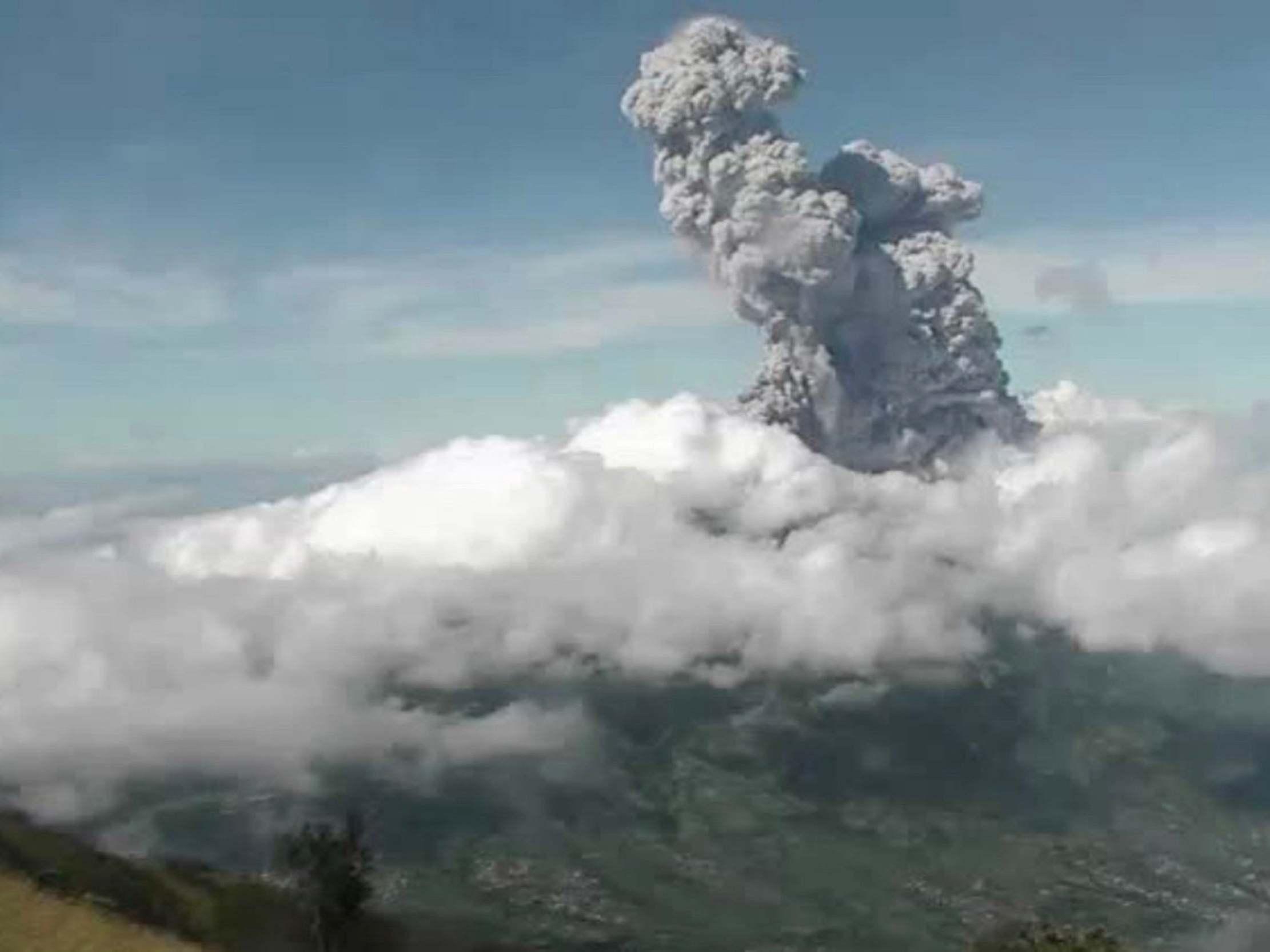 Mount Merapi: Indonesia's most volatile volcano spews 6km-high column of ash in new eruption