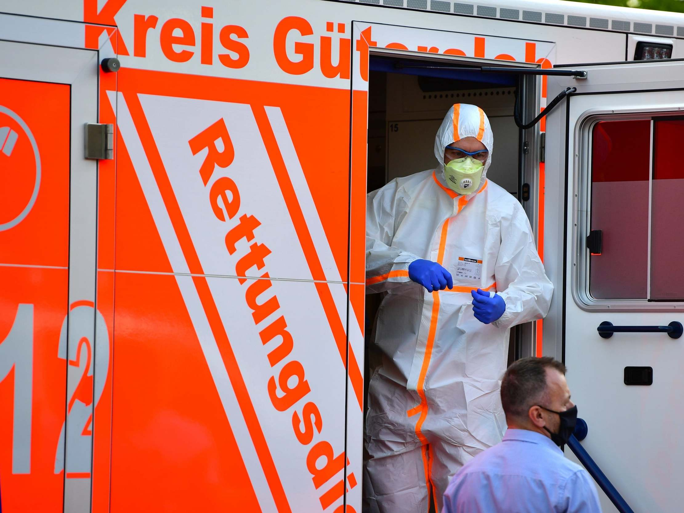 Fears of second coronavirus wave in Germany as 'R' rate jumps to 1.79