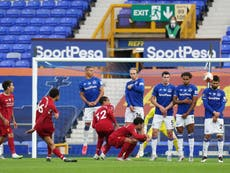 Everton vs Liverpool player ratings as Merseyside derby ends goalless