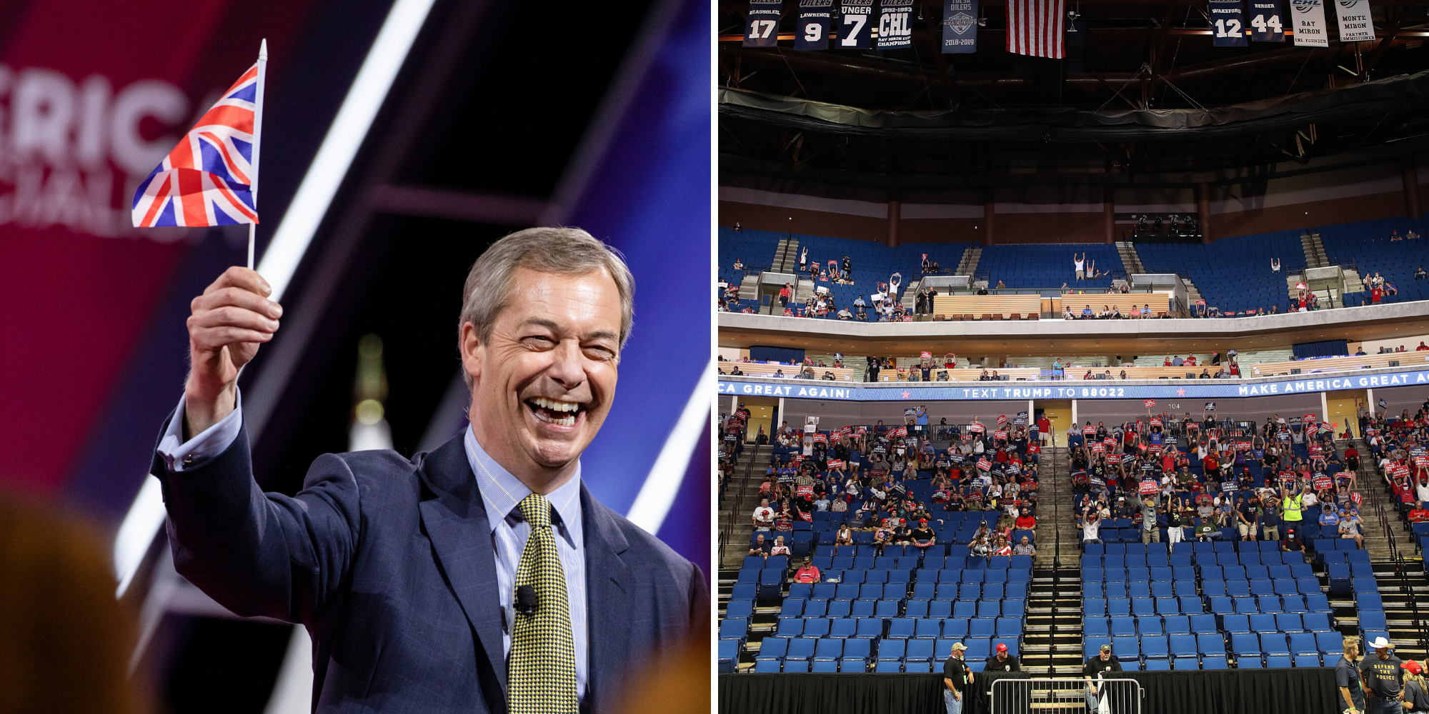 Investigation launched into Nigel Farage's travel to US to attend Trump rally