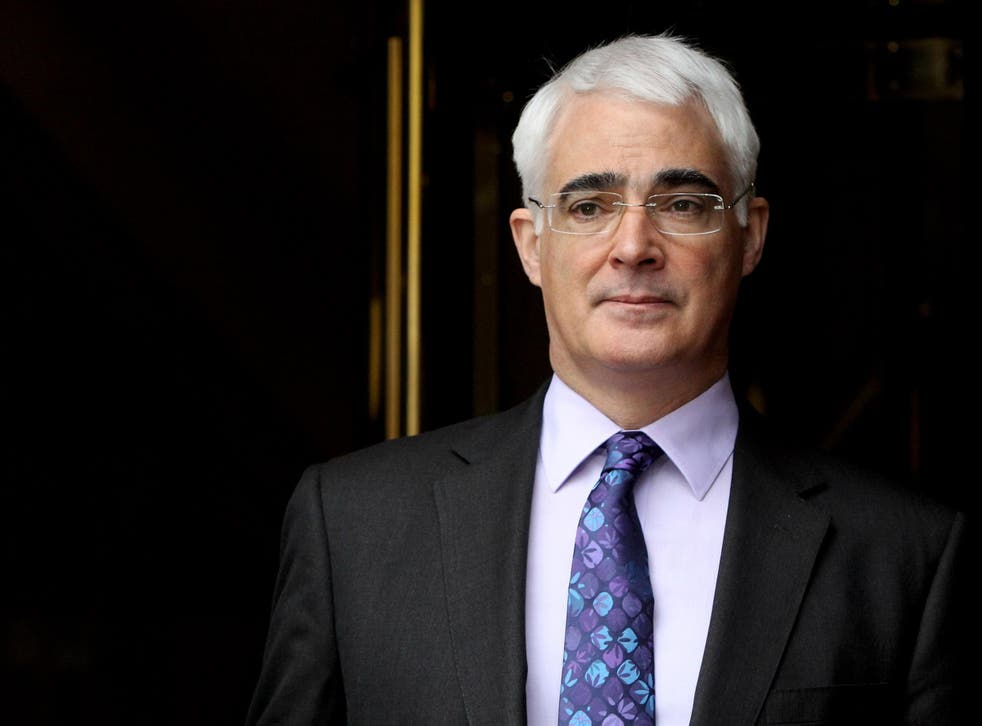 Alistair Darling, a Lord and Labour peer, was chancellor during the 2008 financial crisis